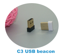Ultra-low power consumption chipset card iBeacon Module Eddystone beacon tag