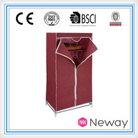 new simple household product for sale house room non-woven clothes cabinet room cheap corner bedroom wardrobe