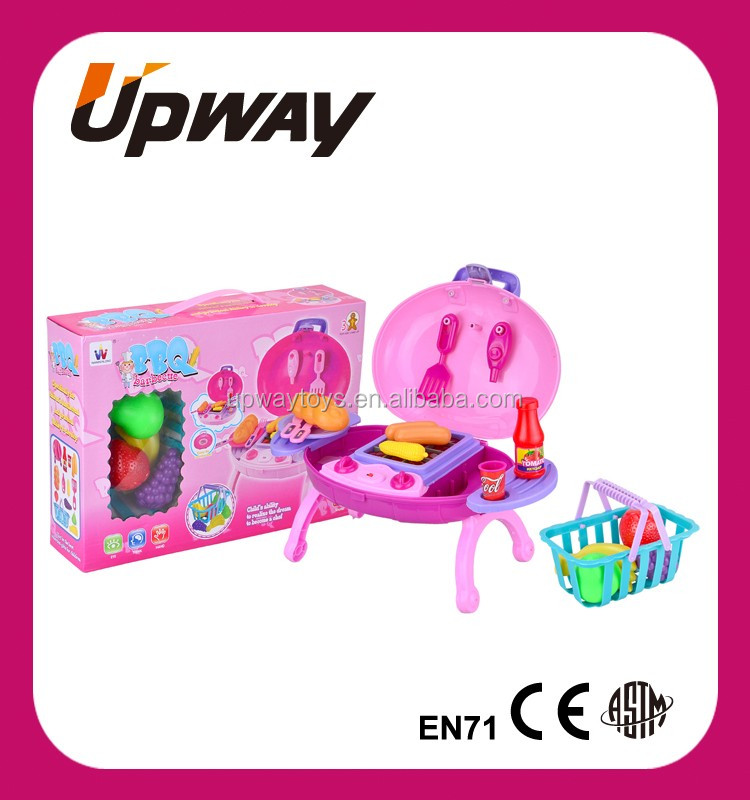 B O Barbecue Grill Toys For Kids Kitchen Bbq Play Set