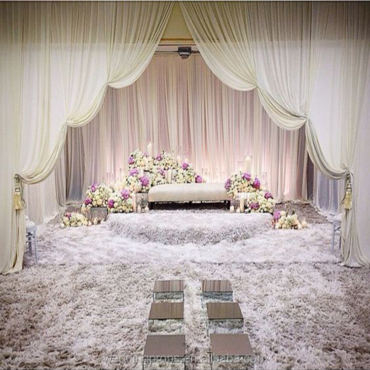 pipe decoration gorgeous ideas backdrops drape and supplies bridalpulse drapes e wedding images
