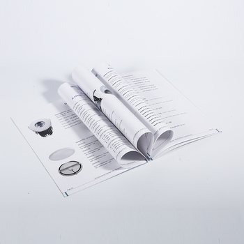 Newest design offset printing brochure / soft books / product manual