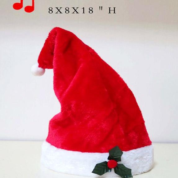 d5f9318538b89 China Musical Christmas Hat