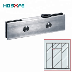 stainless steel top patch fitting & glass door clamp & glass connector