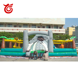 Customized cheap inflatable playground balloon, inflatable fun city playground