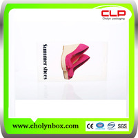 Wholesale top quality custom clear plastic high quality PP twill shoe box