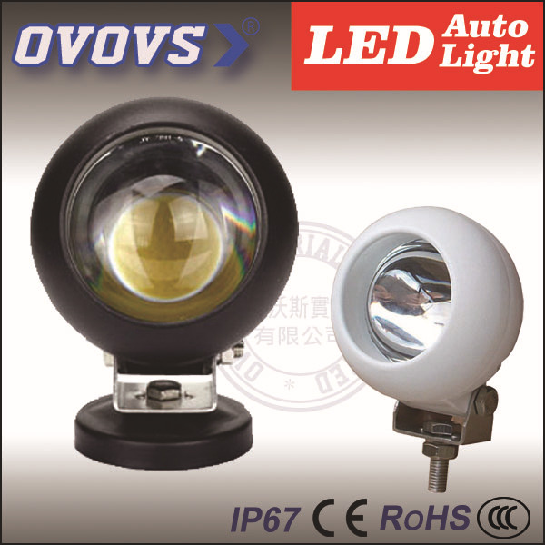 round cob spot flood 15W led work driving light for 4wd.suv,boat,ship,atv,