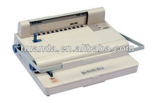Alibaba hot selling 10 pins binding strip machine YL-20,we are manufacturer