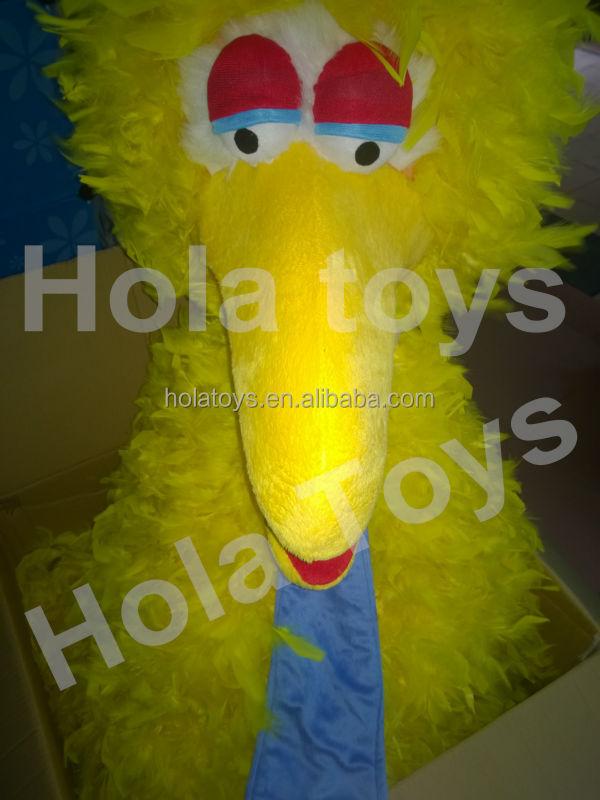 Hola big bird mascot costumes/yellow mascot costume for sale & Hola Big Bird Mascot Costumes/yellow Mascot Costume For Sale - Buy ...
