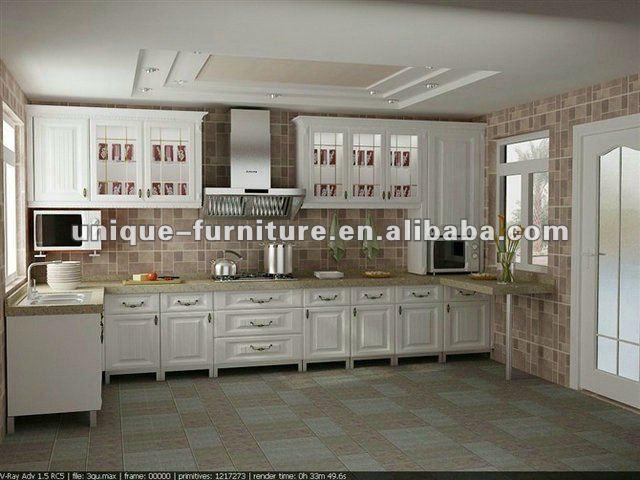 moderna laminato formica legno mobili per cucina-mobili per cucina ... - Laminato Per Cucina