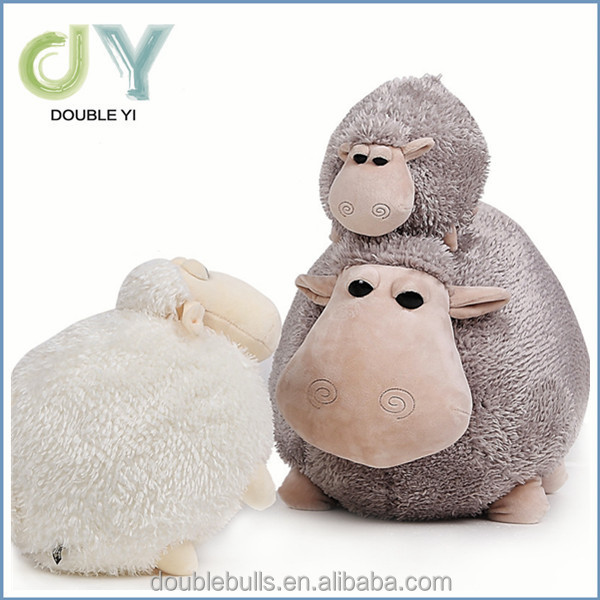 China manufacture best selling family sheep Type and Plush,Super soft plush,stuffed with 100% cotton Material cute sheep doll t