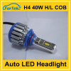 China waterproof Super bright led headlight 9006 /hb4 30w 5500K 3000lm all-in-one led auto headlight for cars