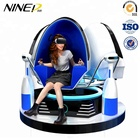2019 Top Hot Sale Future Franchise Opportunities 9D VR Cinema Simulator Machines 9D Virtual Reality Egg Chair