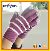 Christmas gift Touch Screen Gloves 3 or 5 fingers touch glove for cell phone