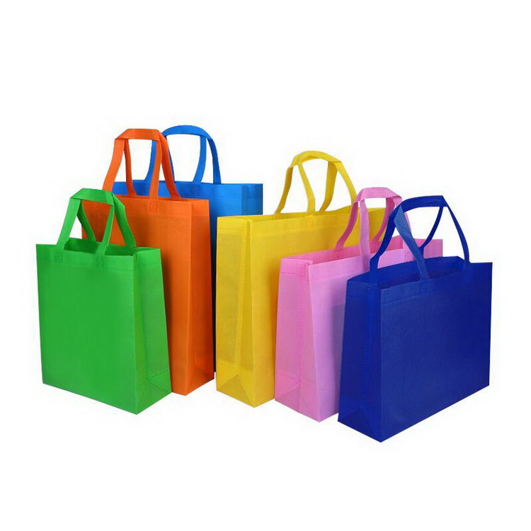 China Supplier Non Woven Shopping Bag High Quality Logo Customized Tote Bag