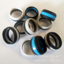 custom silicone thumb ring,latest style silicone rubber wedding ring
