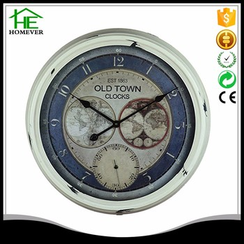 Wholesale decoration world map metal wall clock for classroom buy wholesale decoration world map metal wall clock for classroom gumiabroncs Image collections