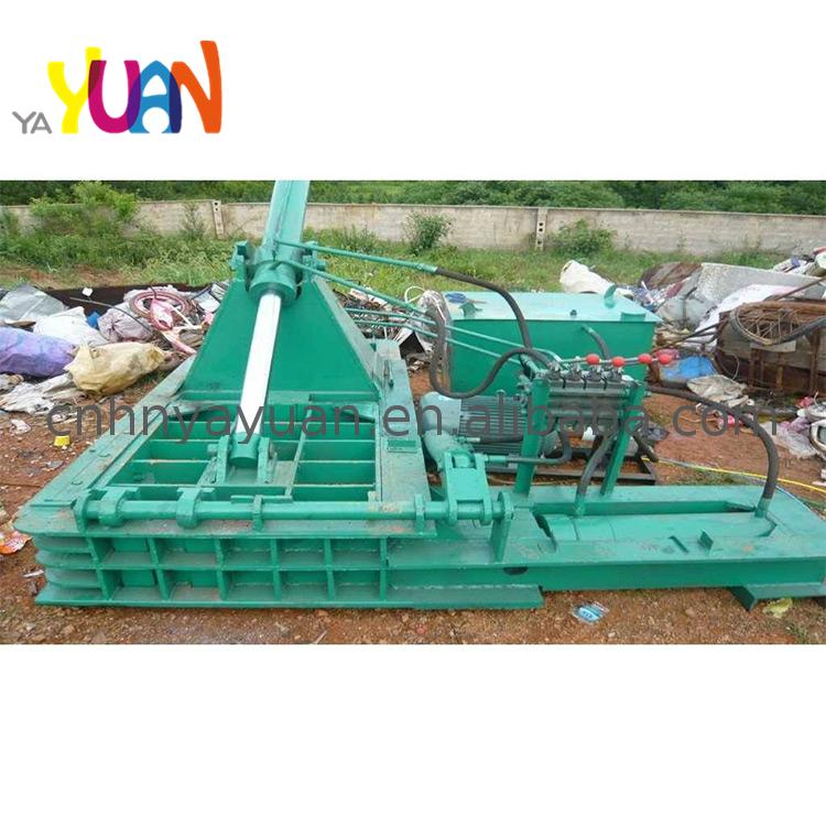 Horizontal Mobile Iron Scrap Metal Baler Shear for Sale