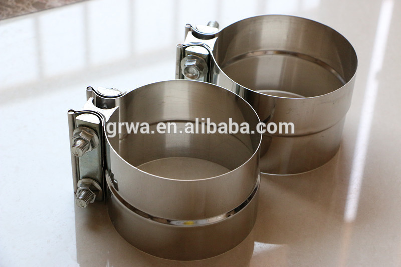 "3"" Stainless Steel Exhaust Clamps for Powerstroke Diesel"
