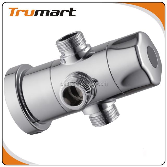 3 Way Shower Water Diverter Water Saving Shower Adapter