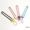 promotional charm straps for cell phones in PVC material