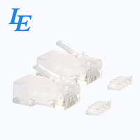 8p8c RJ45 Connector Cat5e 3u Modular Plug