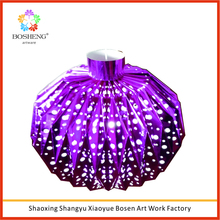Party decorations hanging ball with light promotion foil lantern