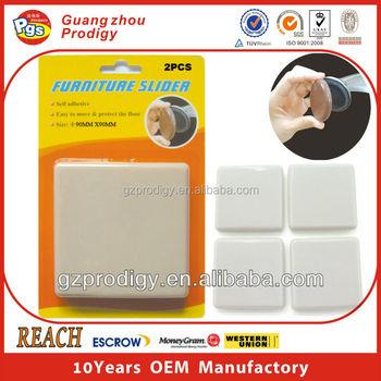 Beau 90mm Round Adhesive Furniture/heavy Furniture Sliding Pads