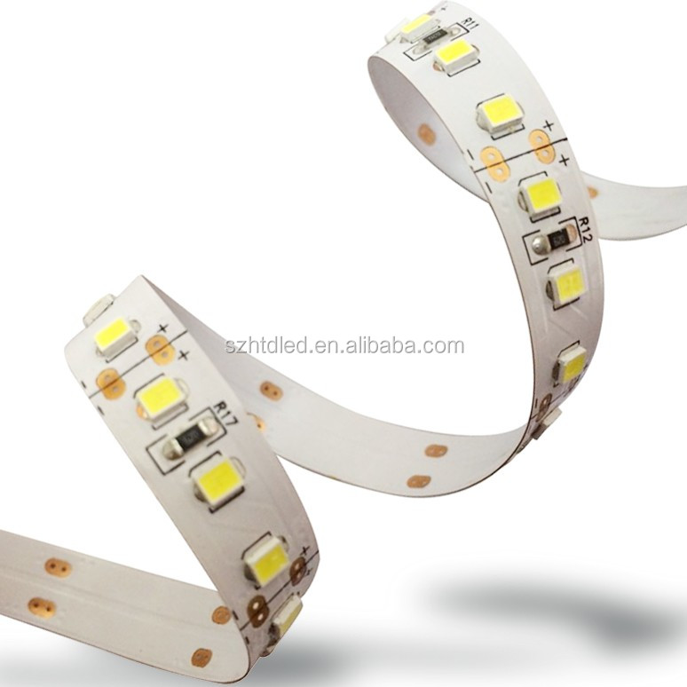 5700-6400K high brightness smd2835 ip20 120leds led strip light dc24v