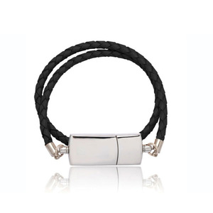 fashionable usb bracelet flash drive custom logo bracelet flash memory