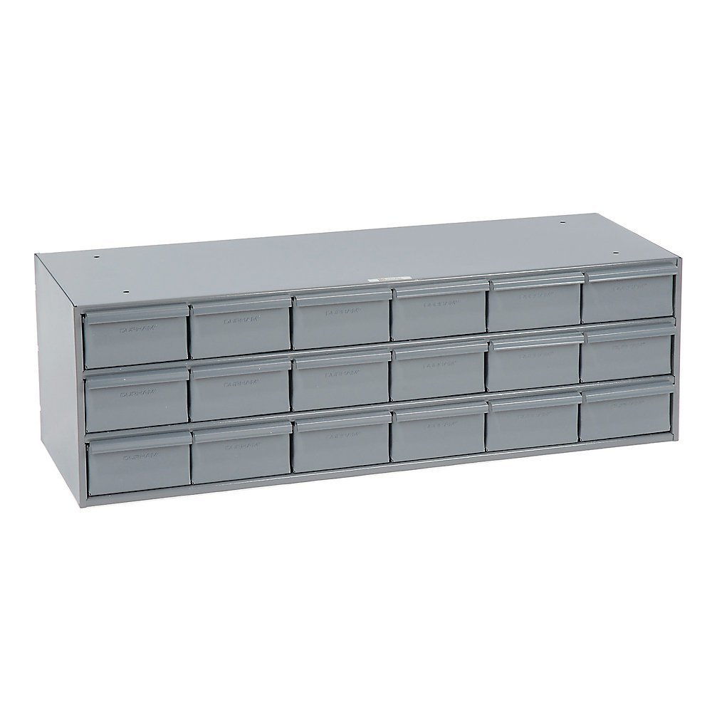 "DURHAM Modular Cabinet - 33-3/4 x17-1/4 x12-7/8"" - (18) 5-3/8 x17x3-1/2"" Drawers"
