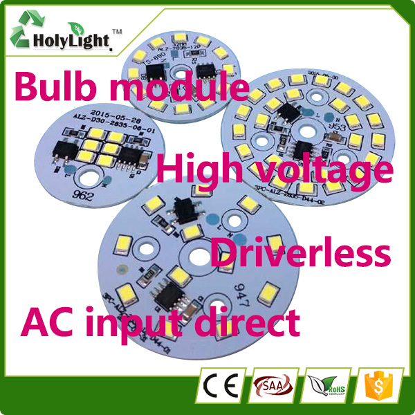 Chinese Manufacturer AC 220v 15W SMD 2835 DOB Bulb led+modules