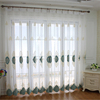 New style classic pattern embroidered polyester window curtain