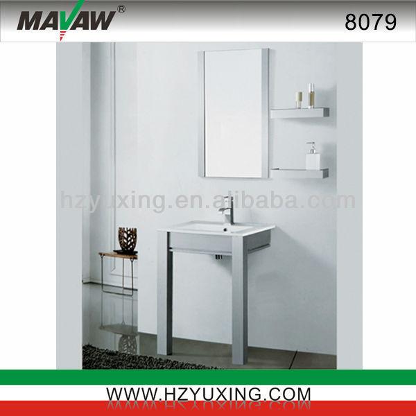 대 스테인레스 스틸 작은 욕실 세면대/ 가구/ ma-8079 캐비닛 ...