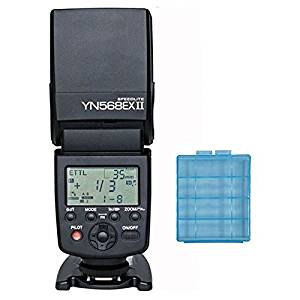 Yongnuo YN568EXII Flash Speedlite light for Canon Wireless Radio Slave 2.4G 4-Channel TTL /ETTL LCD Screen Yongnuo YN568EX II