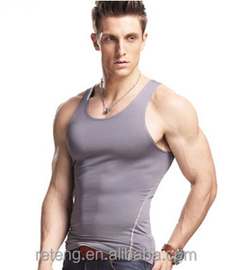 High Quality Muscle Workout Custom Gym Mens Stringer Singlet In Bulk