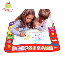 Kids Colorful Doodle Scribble Boards 80*60cm Aqua Drawing Mat Magic Water Drawing Mat
