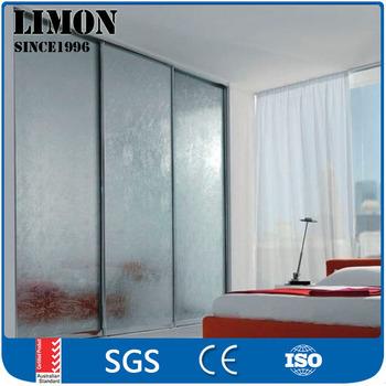 Cheap Aluminum 96 X 80 Sliding Glass Shower Doors For Bathrooms