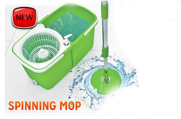 Haoqiang As Seen On Tv Magic Mop 360 Magic Spin Mop With