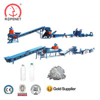 PET Plastic Bottle Flake Recycling Cleaning Line