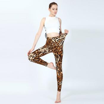 a5649e28b839 Leopard Print Sexy Girl In Yoga Pants