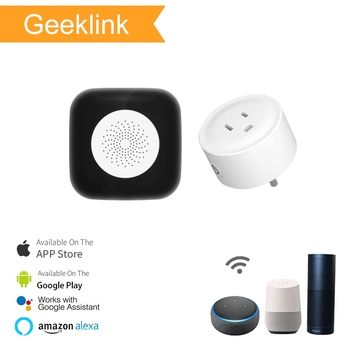 Geeklink DIY Wireless Smart Home Devices Thinker mini security alarm system USA standard wifi power socket home automation kit