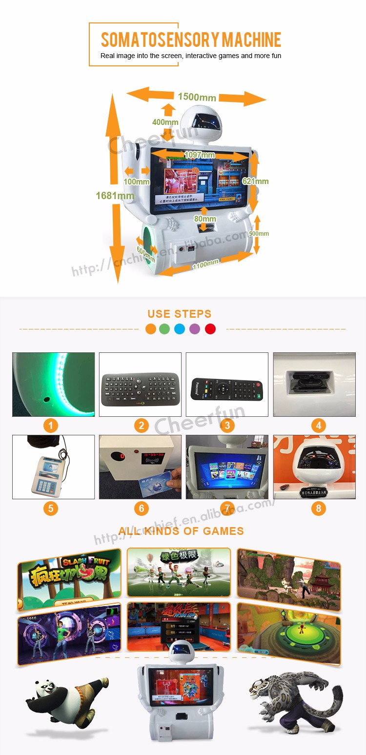 Fruit factory game - 3d Fruit Ninja Factory Price Somatosensory Games Kids Coin Operated Game Machine