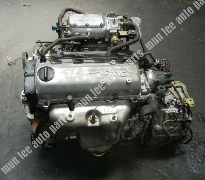 Jdm Used Engine For Car Daihatsu He Esprit - Buy Daihatsu,He,Used Engine  Product on Alibaba com