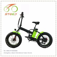 top rated folding 20inch electric bicycle new designe with 48v battery
