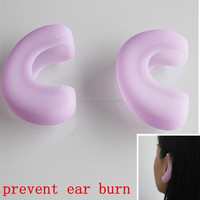 2015 new item hair salon ear silicone protector
