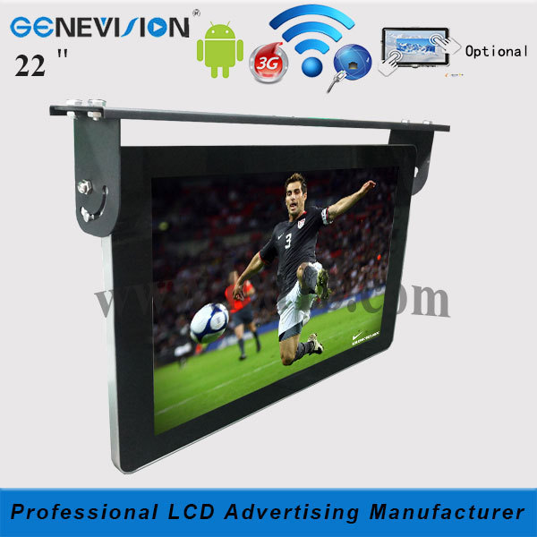 22 inch Bus / Car lcd advertising signboard