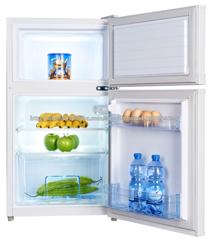 Superior congelador de doble puerta nevera peque a con mango refrigeradores - Nevera doble puerta ...