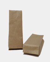 wholesale 1kg Side Gusset Pouch Kraft Paper for food packaging bag for wholesale