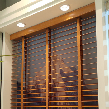 Curtain Times Natural Elegance Wooden Blinds For House