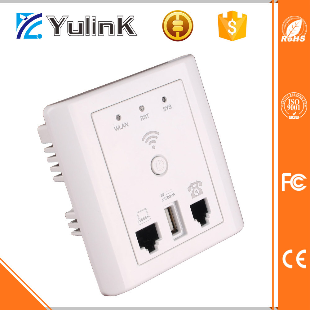 OEM 2.4ghz 802.11n 300Mbps in WALL Wireless Access Point WIFI